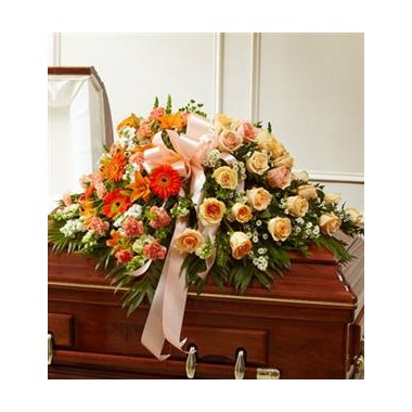 peach casket_Large